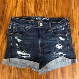 American Eagle Next Level Stretch Hi-Rise Shortie